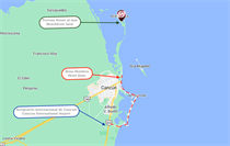 Lots and Land for Sale in Cancun, Quintana Roo $24,000,000