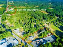 Commercial Real Estate for Sale in Coombs, British Columbia $1,540,000