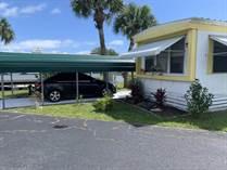 Homes for Sale in Whispering Palms , Sebastian, Florida $18,500