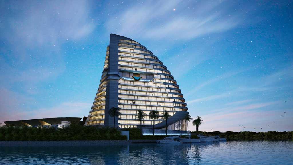 Shark Tower Puerto Cancun
