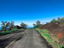 Lots and Land for Sale in Hawaii, OCEAN VIEW, Hawaii $15,900
