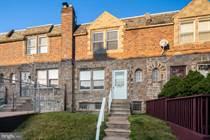 Homes for Sale in Philadelphia, Pennsylvania $185,000