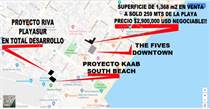 Lots and Land for Sale in Playa del Carmen, Quintana Roo $2,900,000