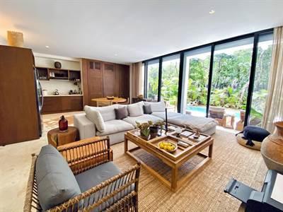 Luxury 2 Br. Condo w/ Private Pool and Garden  in Aldea Zama