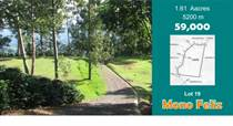 Lots and Land for Sale in Puriscal, San José $59,000