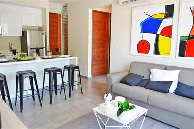 Charming 2 Br. Condo w / Private Terrace In the Heart of Playa.