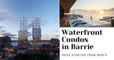 Debut Condo, Barrie - 55 Dunlop St W