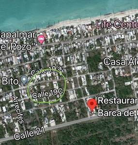 "Chelem, Yucatan Presents ""2 Lots in Third Row"" Good Location"