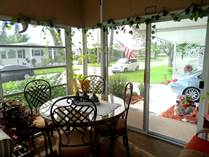 Homes for Sale in Camelot Lakes MHC, Sarasota, Florida $74,000