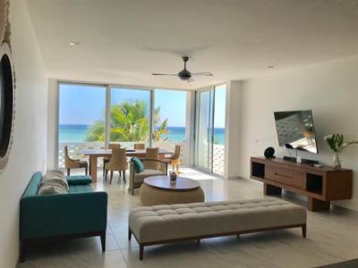 """San Benito, Yucatan Presents """"PENTHOUSE CONDO"""" Beach Front"""