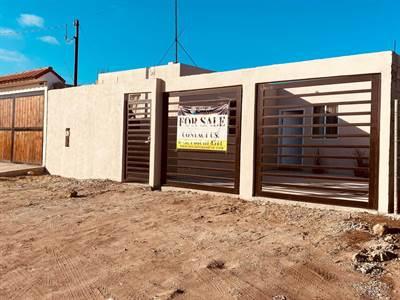 HOUSE NEW CONSTRUCTION FOR SALE IN COL. LA REFORMA IN ROSARITO BEACH