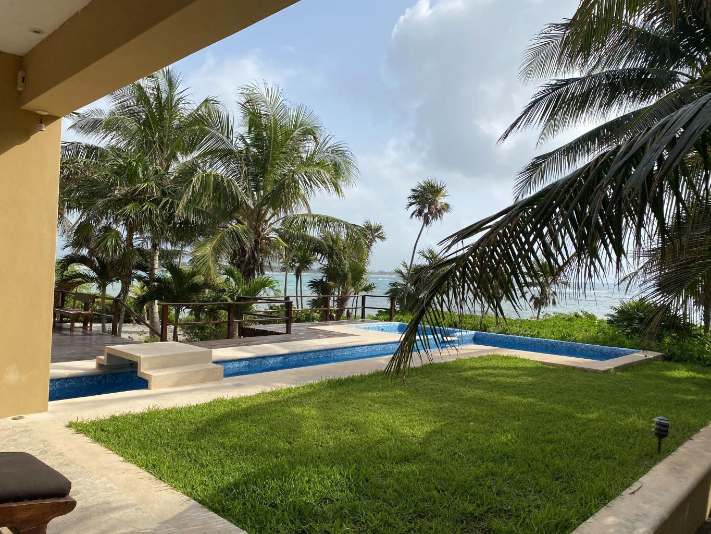 Casa Kukulcan 4-Bedroom Beachfronnt Home