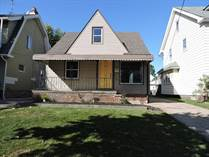 Homes for Sale in West Blvd, Cleveland, Ohio $105,000