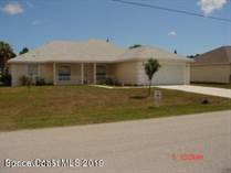 Homes for Sale in Palm Bay, Florida $188,900