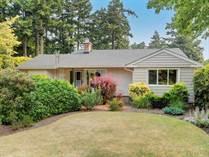 Homes for Sale in Gordon Head, SAANICH, BC, British Columbia $1,075,000