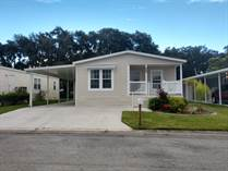 Homes for Sale in The Oaks at Countrywood, Plant City, Florida $77,900