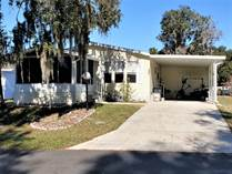 Homes for Sale in Stoneridge Landing, Inverness, Florida $35,000
