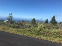 Lots and Land for Sale in Hawaii, OCEAN VIEW, Hawaii $17,000