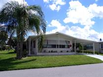 Homes for Sale in Camelot Lakes MHC, Sarasota, Florida $64,000