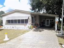 Homes for Sale in Foxwood Village, Lakeland, Florida $25,500