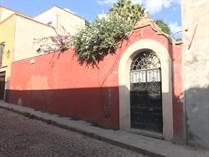 Lots and Land Sold in Centro, San Miguel de Allende, Guanajuato $715,000