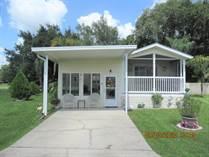 Homes for Sale in Majestic Oaks, Zephyrhills, Florida $53,500