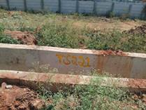 Lots and Land for Sale in Hebbal, Bangalore, Karnataka Rs8,040,000