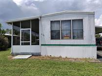 Homes for Sale in Tall Pines MHC, Fort Pierce, Florida $12,300