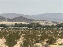 Lots and Land for Sale in California, 29 Palms, California $2,262,000
