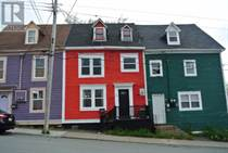 Homes for Sale in St John's, St. John, Newfoundland and Labrador $165,000
