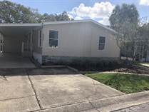 Homes for Sale in Countryside Village Mobile Home Park, Tampa, Florida $65,000