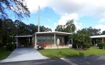 Homes for Sale in Camelot Lakes MHC, Sarasota, Florida $44,000