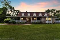 Homes for Sale in Clarkston, Michigan $750,000