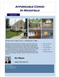 Condos for Sale in Wakefield, Massachusetts $249,060