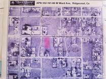 Lots and Land for Sale in Ridgecrest, California $40,000