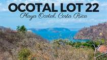 Lots and Land for Sale in Playa Ocotal, Ocotal, Guanacaste $125,000