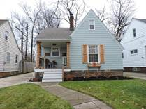 Homes for Sale in Kamms Corner, Cleveland, Ohio $220,000