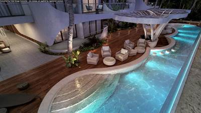 2 Br. Beachfront Condo For Sale in Tankah, Tulum, QR, MX