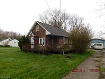 Homes for Sale in Ashtabula, Ohio $31,900