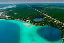 Lots and Land for Sale in Lake Front, Bacalar, Quintana Roo $285,000