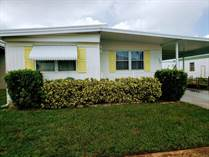 Homes for Sale in Serendipity Mobile Home Park, Clearwater, Florida $25,900