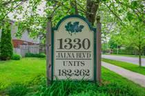 Condos Sold in Jalna Blvd, London, Ontario $249,900