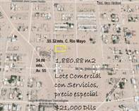 Commercial Real Estate for Sale in San Rafael, Puerto Penasco/Rocky Point, Sonora $21,000
