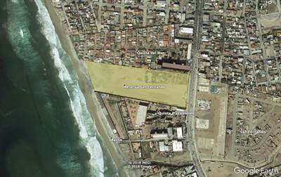 DOWNTOWN ROSARITO BEACH, BAJA COMMERCIAL / RESIDENTIAL OCEAN FRONT LAND