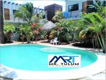 Multifamily Dwellings for Sale in La Veleta, Tulum, Quintana Roo $749,000