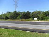 Lots and Land for Sale in Carretera, Playa del Carmen, Quintana Roo $666,000