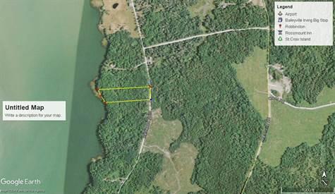 Harrington Maine Map.Lot 26a Hardwood Point Road Harrington Maine For Sale By Scot Walker