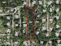 Lots and Land for Sale in Homosassa, Florida $49,900