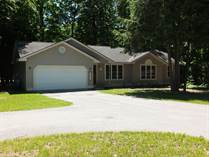 Homes for Sale in Almira Township, Lake Ann, Michigan $199,900