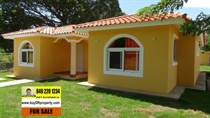 Homes for Sale in La Mulata, Sosua, Puerto Plata $150,000